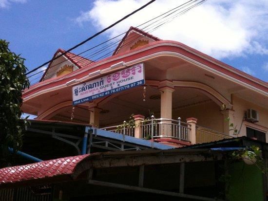 Khemra Guesthouse: Cool public balcony