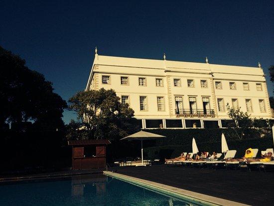 Tivoli Palácio de Seteais : view from Swimmingpool