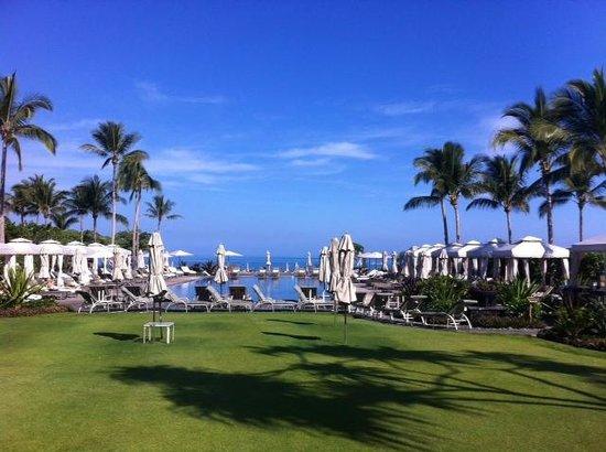 Four Seasons Resort Hualalai: Quiet Pool