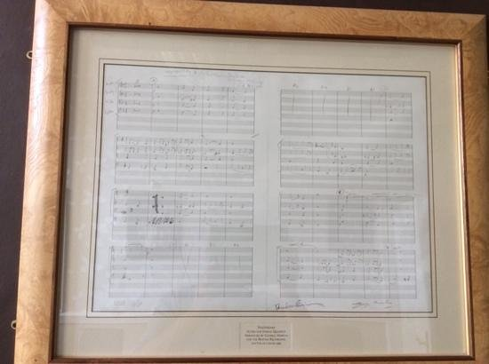 The Tower Hotel: Beatles Sheet Music in the Bar