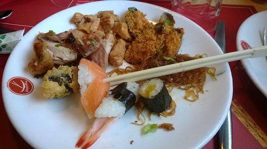 Happy Wok : Piatto