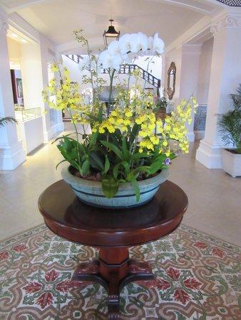 Belmond Hotel das Cataratas: Amazing orchid display