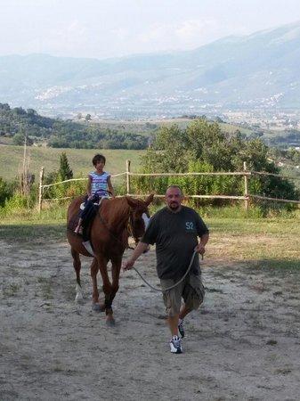 Agriturismo Rivoli: Si va a cavallo!!!!
