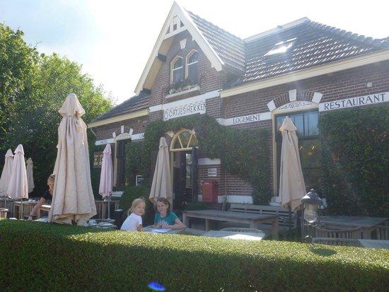 Oortjeshekken Hotel: Breakfast at Oortjeshekken