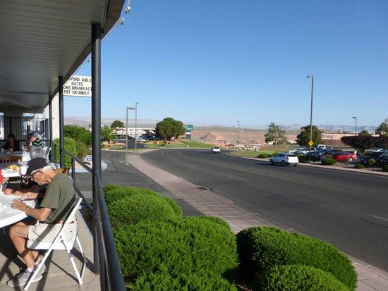 Travelodge Page: Blick in Richtung Glen Canyon Dam