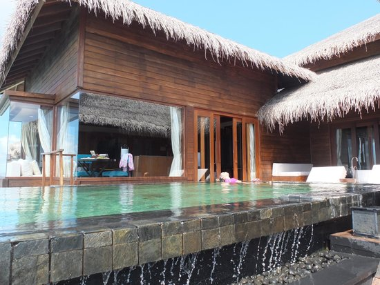 North Huvadhu (Gaafa Alifu) Atoll: Infinity private pool