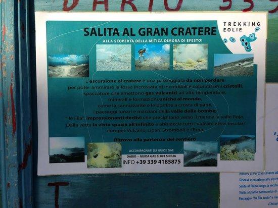 Scalata al Cratere : Adresse du guide