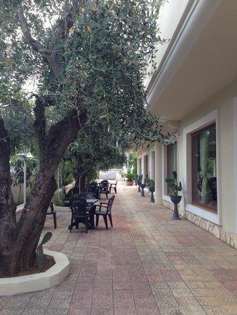 Hotel Al Pozzo: La sala da pranzo...
