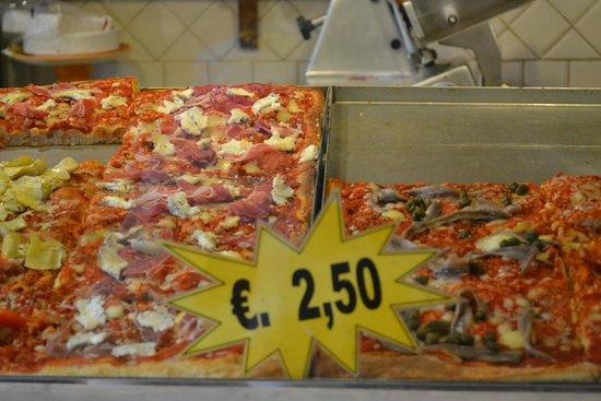 Amici di Ponte Vecchio Da Stefano : Pizza selection