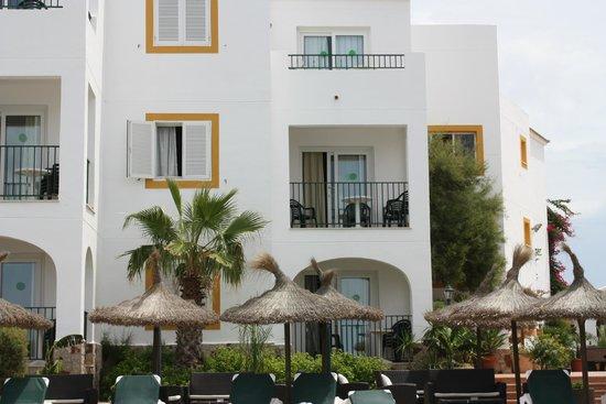 Apartamentos Blancala: Our 1st floor room