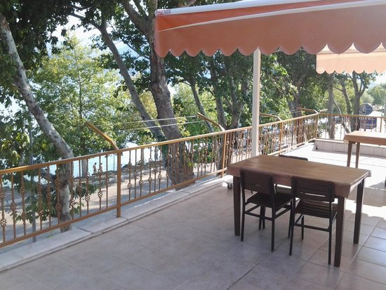 Gol Pension : lake view from terrace