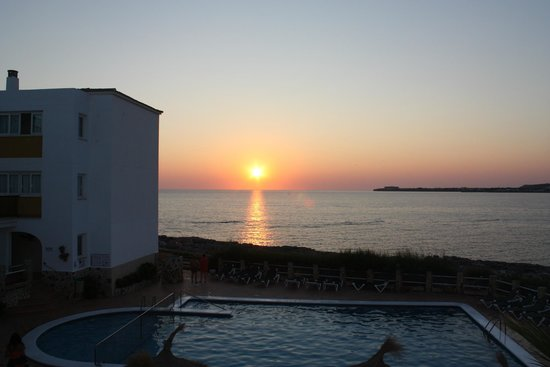 Apartamentos Blancala: Sunset from room