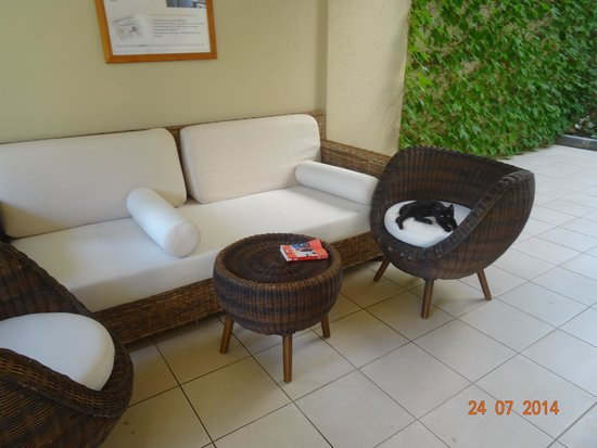 Alantur Hotel : Уголок для отдыха