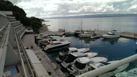 Le Meridien Lav Split: Marina viewed from hotel