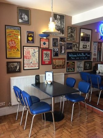 Blue Moon Cafe: inside this lovely retro gem