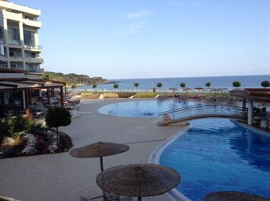 Elysium Resort & Spa: The view from our room