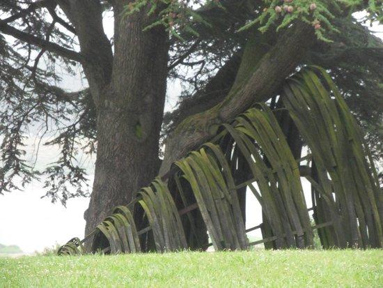 Domain of Chaumont-sur-Loire: installation dans le parc