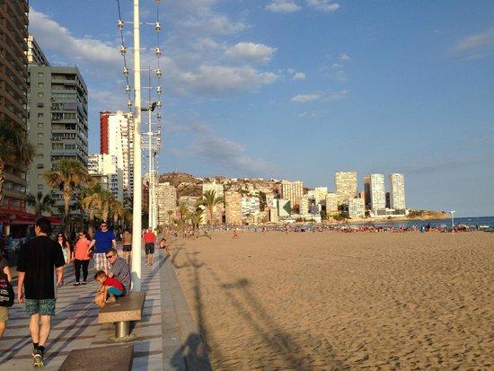 El Trebol: spiaggia di levante