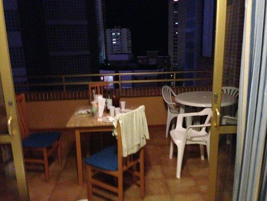 El Trebol: balcone