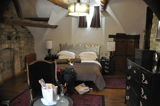The Manor House Hotel and Golf Club: Our bedroom