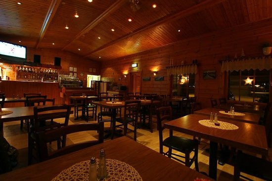 Kaffi Hornid: Dining area