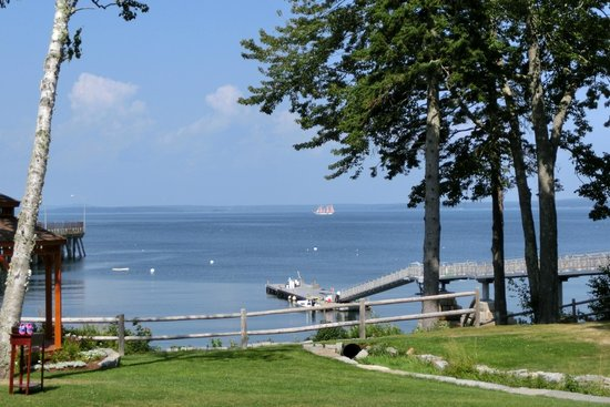 Atlantic Oceanside Hotel and Event Center: Blick vom Hotelzimmer aufs Meer