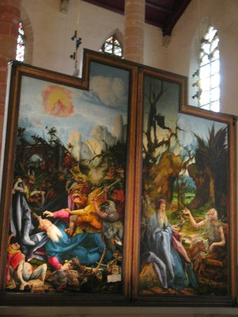 Église des Dominicains : Another medieval altarpiece by Schongauer