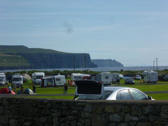 Nagle's Doolin Camping & Caravan Park: View from the campsite