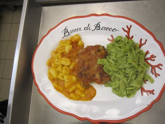 Cooking class at Hotel Buca di Bacco: the final meal!