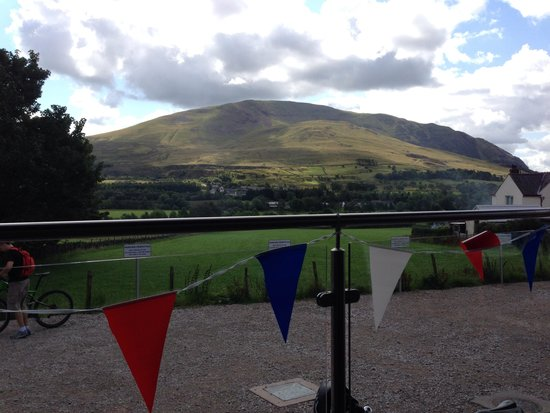 Threlkeld Coffee Shop : View whilst you enjoy the drinks and cake