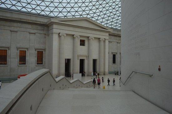 British Museum : Very modern!