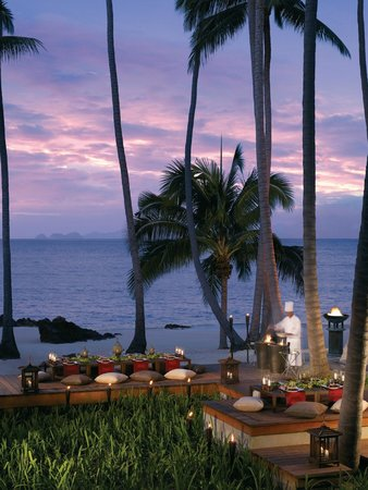 Four Seasons Resort Koh Samui Thailand: Beachside BBQ