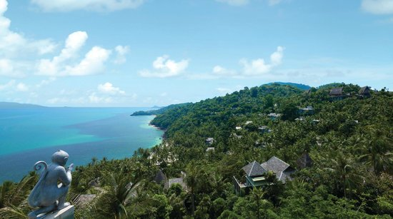 Four Seasons Resort Koh Samui Thailand: View from the top