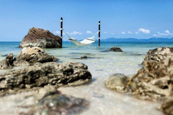 Ang Thong, Ταϊλάνδη: Hammock by the beach