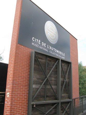 Cité de l'Automobile - Collection Schlumpf: Entrance to the museum