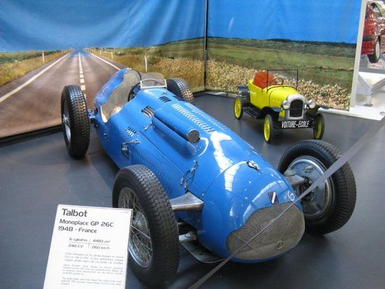 Cité de l'Automobile - Collection Schlumpf: A Talbot Monopiece GP from 1938.