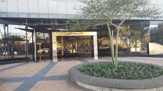 Hilton Durban: Vista de frente