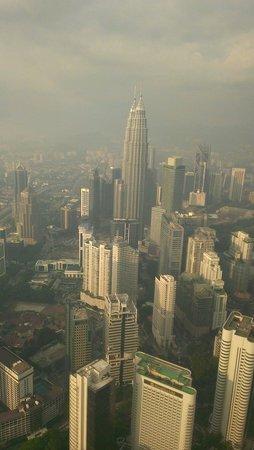 Menara Kuala Lumpur (KL Tower): 塔頂風光...