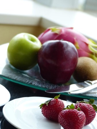 JW Marriott Hotel Hong Kong: Selection of fresh fruits every day