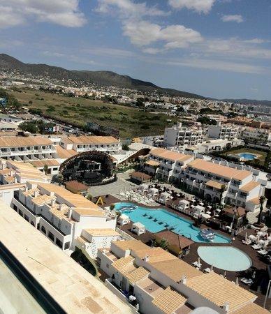 Ushuaia Ibiza Beach Hotel: Vistas desde la zona Tower del hotel