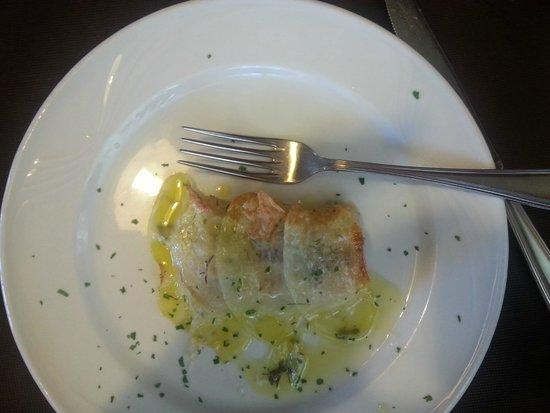 Hotel La Perla Preziosa: Pesce in crosta di patate