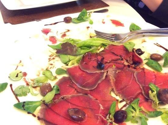 Carpaccio di cervo picture of ristorante del lago bagno di romagna tripadvisor - Ristorante del lago bagno di romagna ...