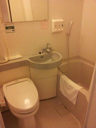 R&B Hotel Tokyo Toyocho: バスルーム