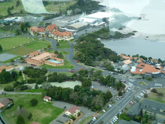Novotel Rotorua Lakeside: View from Sea Plane