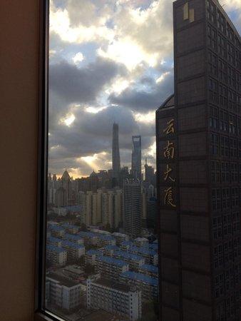 Holiday Inn Shanghai Pudong: Window view