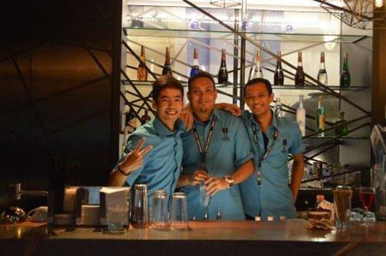 Chijmes : Friendly staff we had pleasure of meeting