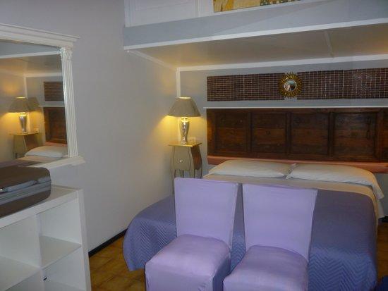 Residence al Lago: blik op de kamer