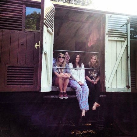 Mill House : railway carriage