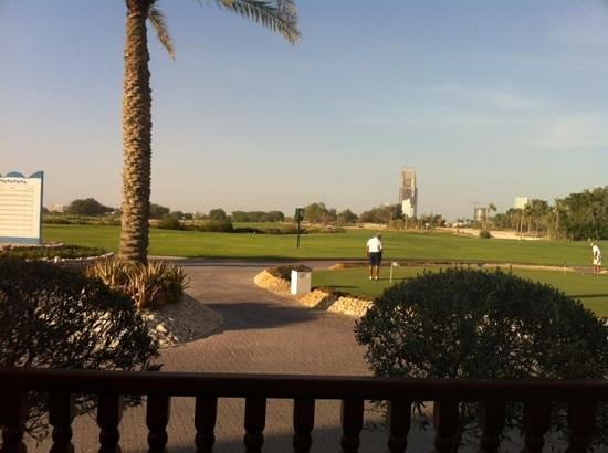 Doha Golf Club : golf course
