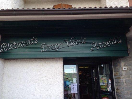 Ristorante Pizzeria Il Drago Verde : Ingresso.